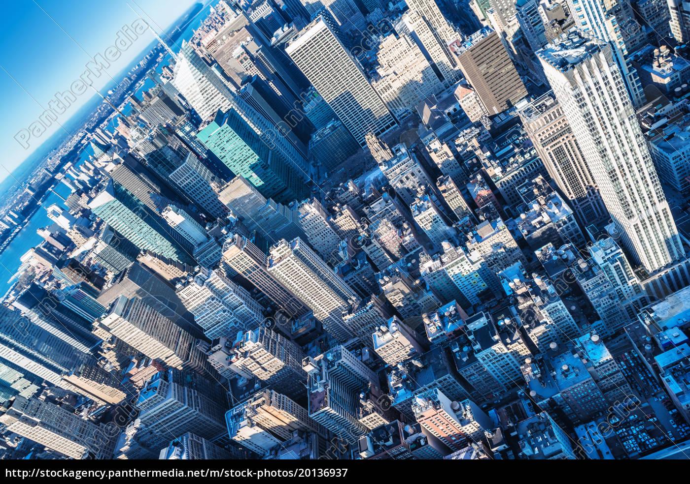 skyscrappers, of, manhattan - 20136937