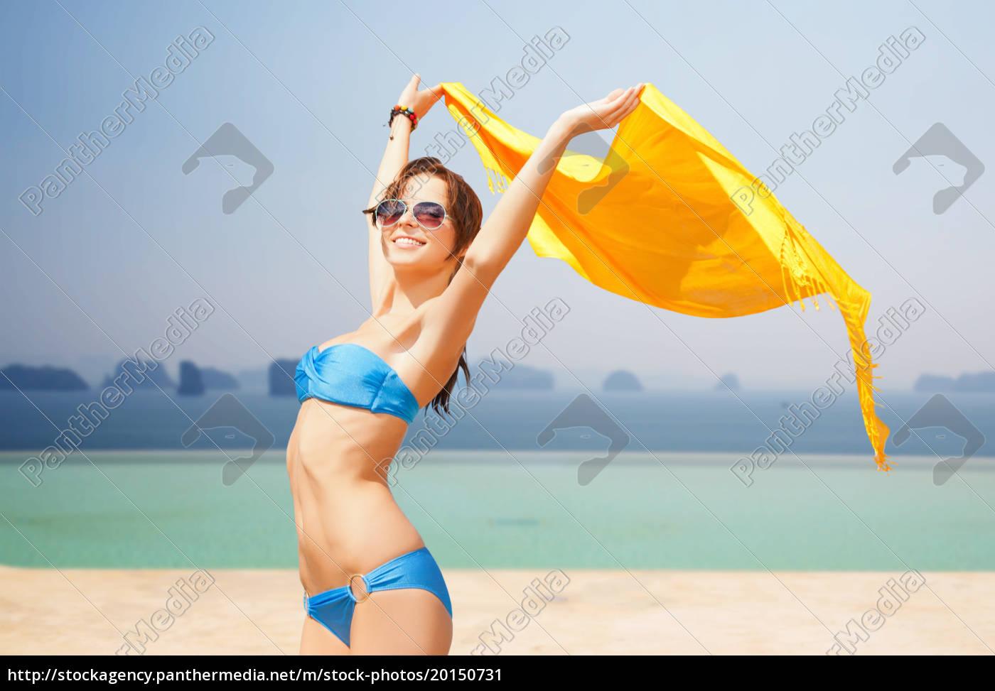 woman, in, bikini, and, sunglasses, over - 20150731