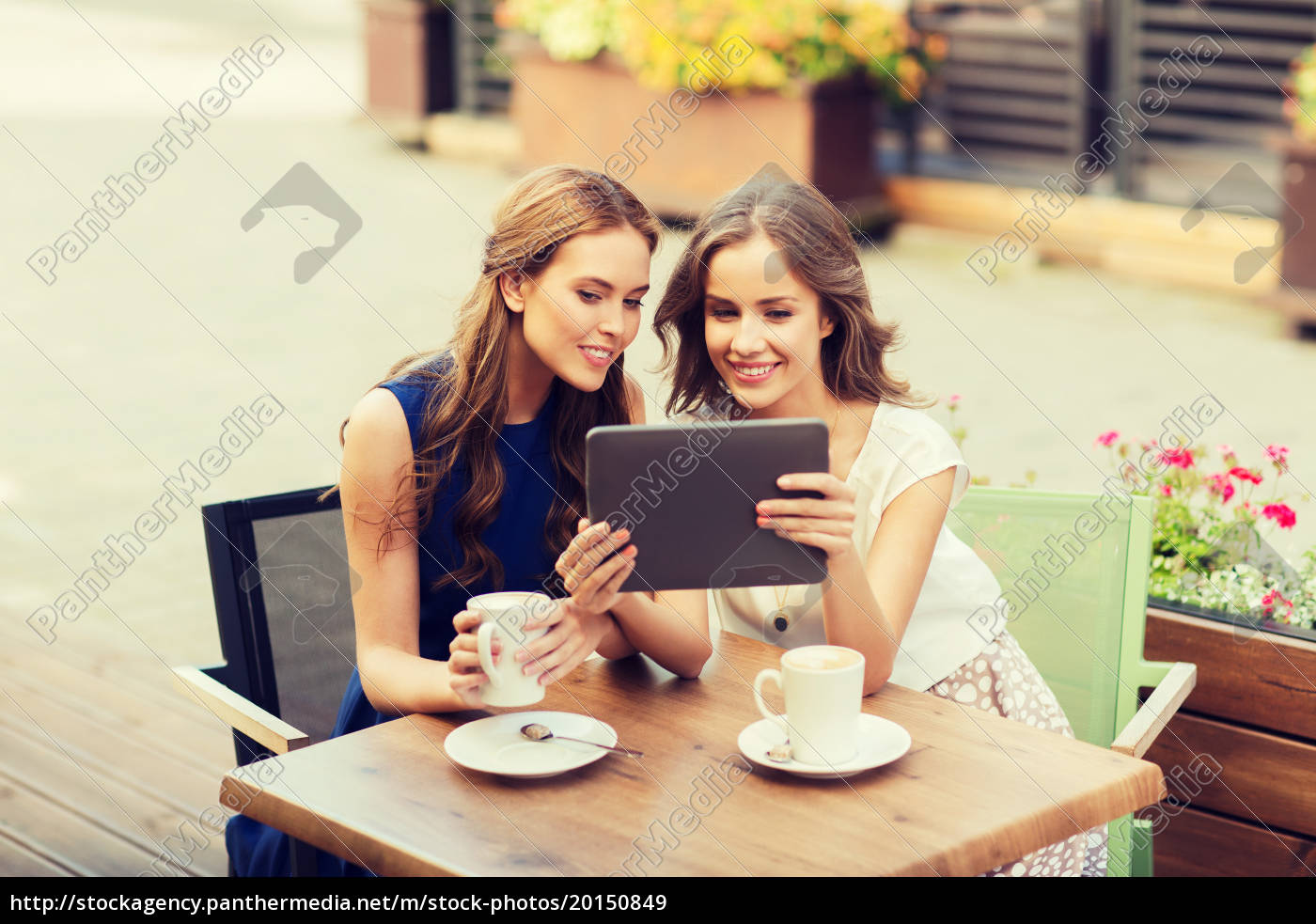 young, women, with, tablet, pc, and - 20150849