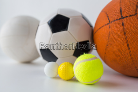close, up, of, different, sports, balls - 20152053