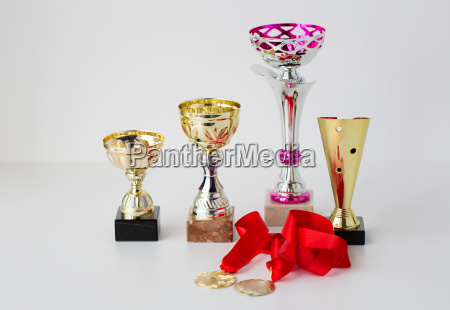 close, up, of, sports, golden, cups - 20153521
