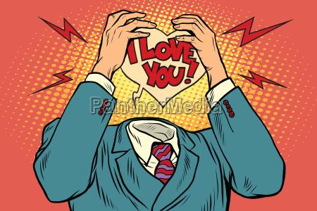 i love you feelings instead of