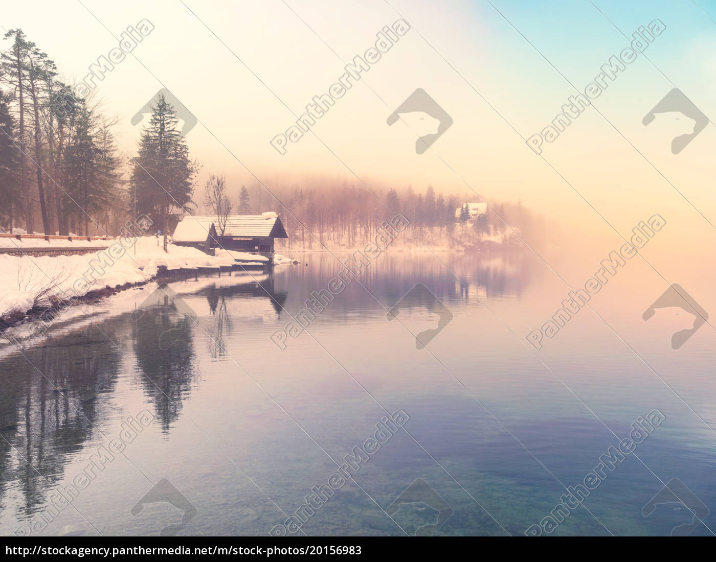 winter, time, in, lake, bohinj-slovenia - 20156983