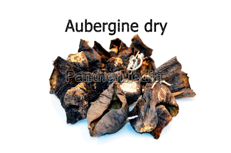 sun dried aubergine dry new stock