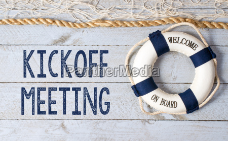kickoff meeting welcome on board