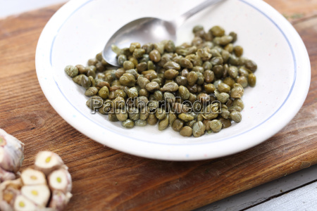 capers vegetables in the kitchen