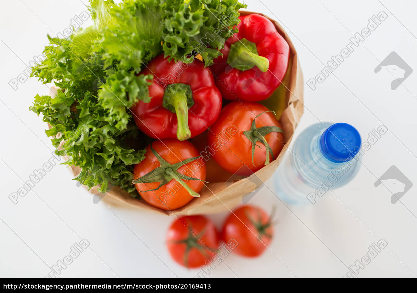 basket, of, fresh, vegetables, and, water - 20169413