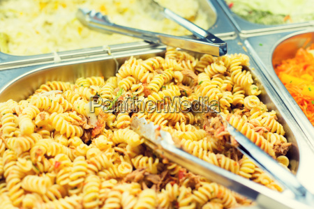 close, up, of, pasta, and, dishes - 20169411