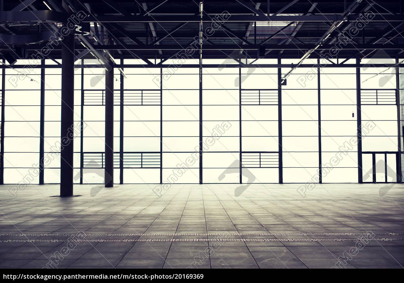 modern, empty, show, room - 20169369