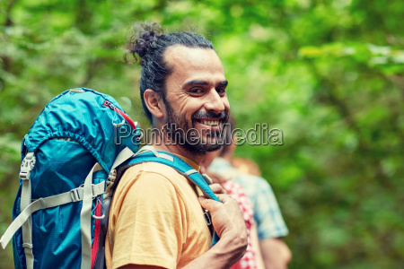 group, of, smiling, friends, with, backpacks - 20170967