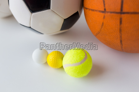 close, up, of, different, sports, balls - 20171887