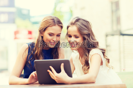 happy, young, women, with, tablet, pc - 20172805