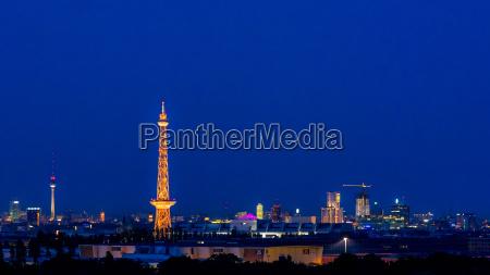 germany berlin charlottenburg skyline