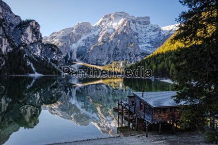 italy south tyrol lago di braies