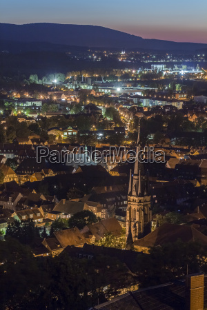 germany saxony anhalt wernigerode in the