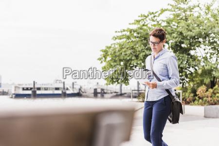 usa new york city businesswoman walking