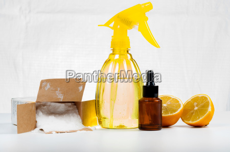 eco friendly natural cleaners made of