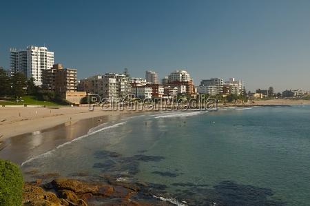 ocean beach in australia