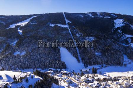filzmoos ski resort in the salzkammergut