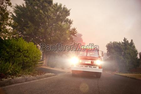 south africa stellenbosch fire truck coming