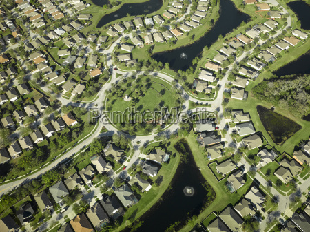 usa florida aerial of the housing