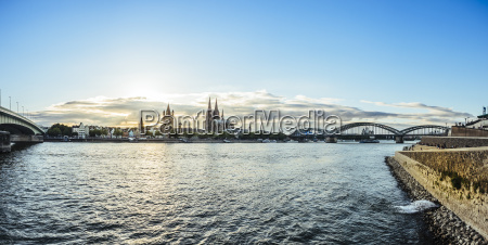 germany cologne view to the city