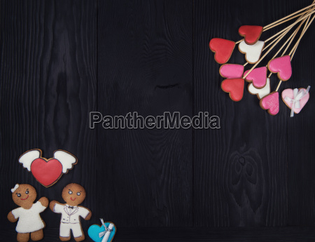 gingerbreads, for, valentines, day - 20216769