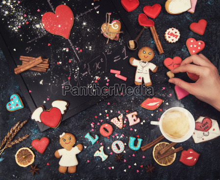 math, , hearts, , formula, of, love - 20216965