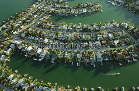 usa florida aerial of housing along