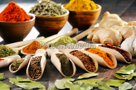 variety, of, spices, and, herbs, on - 20231803