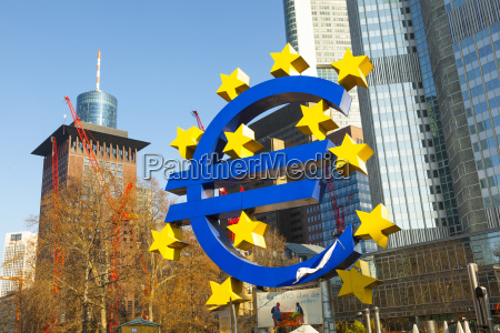 euro symbol in front of the