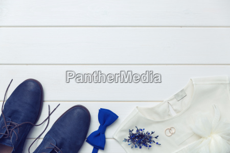 wedding day background clothes and