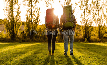 shot of a young couple with