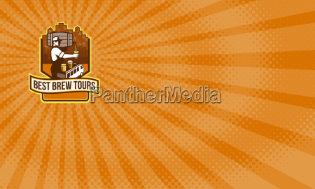best brew tours business card