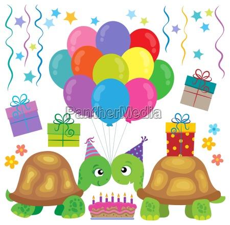 party turtles theme image 1