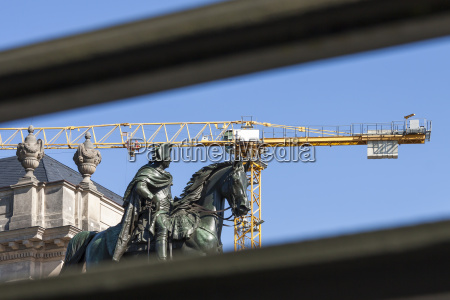 frederick the great as equestrian statue