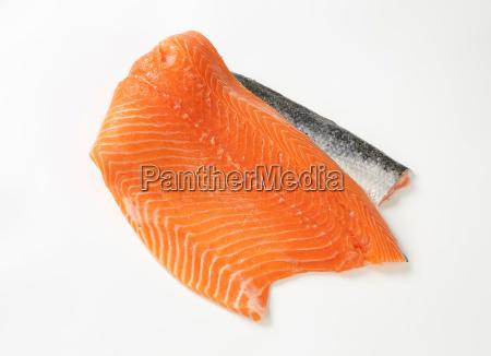 naranja comida piel pescado pesca trucha