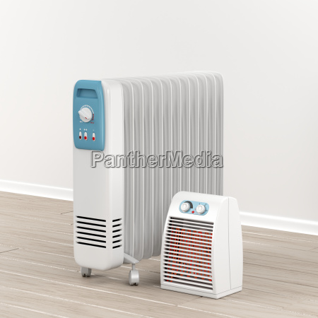 oil filled radiator and fan heater