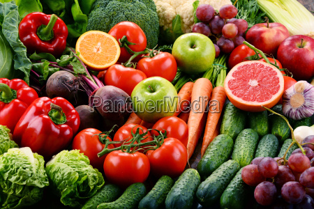 assorted, raw, organic, vegetables - 20376037