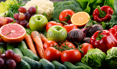 assorted, raw, organic, vegetables - 20376039