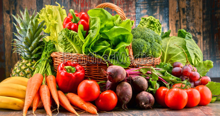 assorted, raw, organic, vegetables - 20376089
