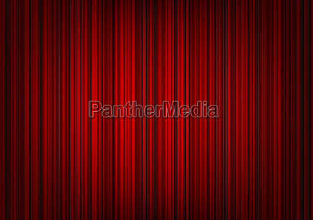 red striped curtain background