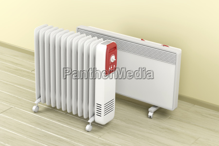 oil filled and convection heaters