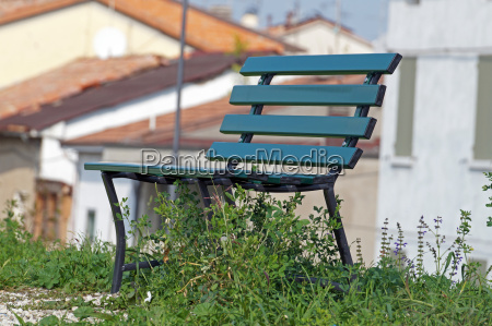 bench in a park on the