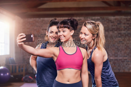 fit young women in sports clothing
