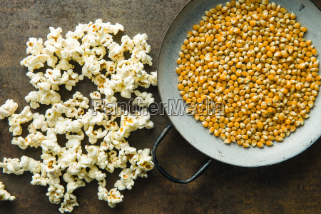 popcorn and corn seeds