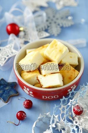 cheesecake for dog for christmas