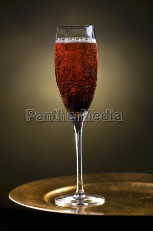 sparkling ruby champagne