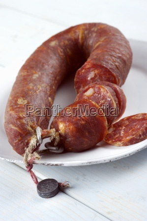 salsiccia pugliese sspicy sausage from apulia