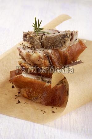 porchetta di ariccia roast pork speciality